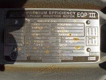 75 HP Toshiba electric motor.