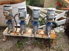 (4) Each used Iwaki DP pumps. m