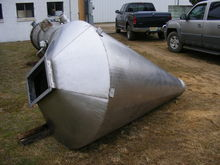 used stainless steel hopper, ap