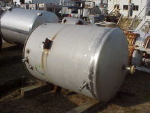 (1) 500 Gallon 304 Stainless St