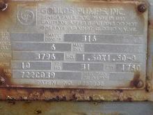 GOULDS, model 3796ST, 1.5x1.5x8