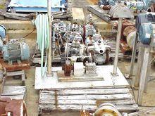 Horizontal pump w/ custom SS ba