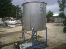 used 550 gallon stainless steel