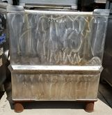 Qty (9): used 300 gallon stainl