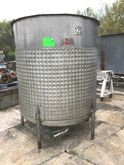 1000 gallon Sanitary Jacketed M
