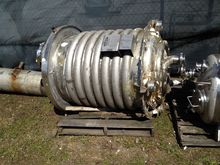 Used 200 Gal vertical, jacketed