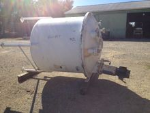 used 800 gallon 316 Stainless s