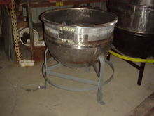 50 Gallon Stainless Steel Kettl