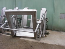 Hydraulic Stainless Steel Tote