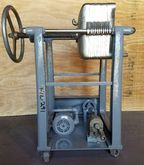 used ERTEL Filter Press, Model#