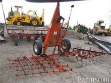 clark 24' finger harrow