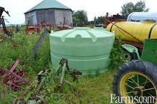 Used Irrigation tank