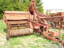 Massey Harris square baler