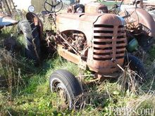 Massey Harris Tractor for parts