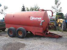 Calumet 3250 Gal Vacuum Tank