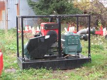 Impulse irrigation pump