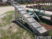 "14"" X 12'electric belt conveyor"