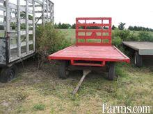 8' x 16' flat rack wagon