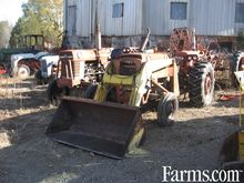 Used MF 165 loader,