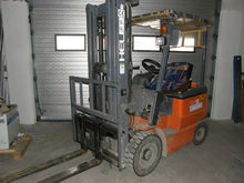 Used Forklift Heli 1