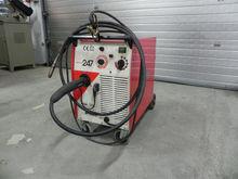 Fronius welder shielding gas