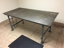 3 x 6 ft Carbon Steel Cold tabl