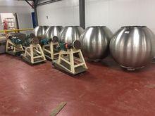 """48"""" Stainless Steel Coating Pan"""