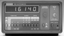 Keithley 614, Electrometer
