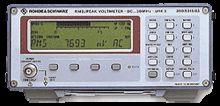 Rohde & Schwarz URE3, Peak Volt