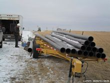 Pipe Hauling and Fusion Trailer