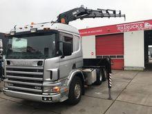 2001 Scania 124-420 6X2 MET HIA