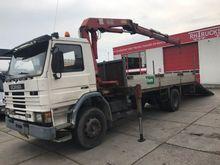1991 Scania P93-210 HMF 1402K +