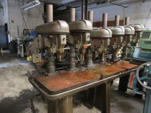 Rockwell Multi-Head Drilling Ma