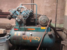 Quincy 25 HP 200 Gallon Recipro