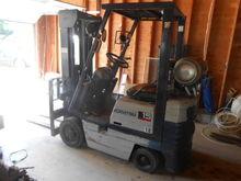 """Komatsu 3000lbs Forklift, 42"""" f"""