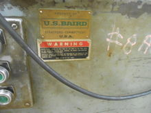US Baird 6-Roll Metal Straighte