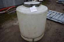 Plastic Tank on stand (Auction