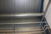 The inside pipes in the buildin