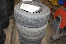 4 tires with rims 205/55 R16 fi