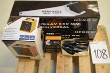2 x 10 pieces. saws, fan heater