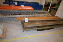Pallet racks, 4 pcs. 4 m + 2. 3