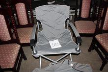2 pcs aluminum camping chairs (