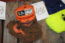 Used Chain hoist 1.5