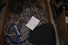 Pallet with sjærkler, wires, ca