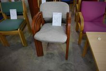 5 pieces. chairs, gray matter (