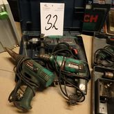 2 drills 1 heat gun (Auction 45