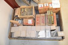 Pallet with various brackets /