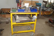 Steel rolling table with variou
