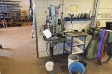 Drill press, mrk. Strands. floo