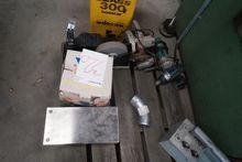 Various power tools, grinders,